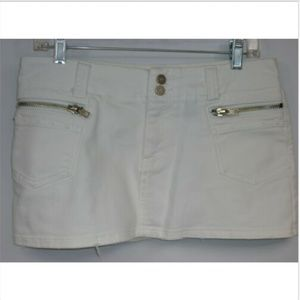 Duchesse Jeans Women's Size 9 Skirt White Stretch